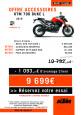 OFFRE KTM 790 DUKE L (version A2), ACCESSOIRES OFFERTS !